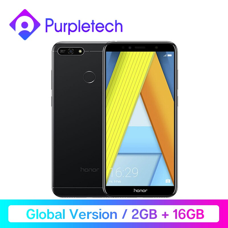 Honor 7A Global Version Smartphone Google Play 2GB 16GB Snapdragon 430 Octa Core 5.7 inch Front 8.0MP Rear 13.0MP 720P 3000mAh