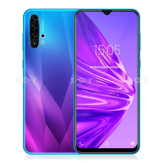 XGODY A50 3G Smartphone Android 9.0 6.5inch 19:9 Full Screen 1GB 4GB MTK6580 Quad Core 5MP Camera 3000mAh Mobile Phone