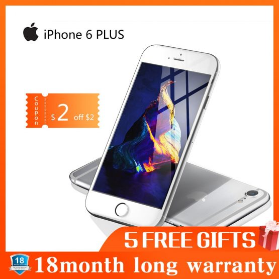 used Phone Apple IPHONE 6 PLUS Smartphone 16GB / 64GB / 128GB ROM 5.5 Screen Mobile WIFI GPS 4G LTE Smart Phone iphone 6 Plus