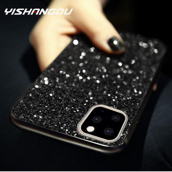 Luxury Bling Glitter Diamond Case For iPhone 11 Pro 6 6s 7 8 Plus Cover For iPhone X Xr Xs Max FashionSoft Silicone Case Fundas