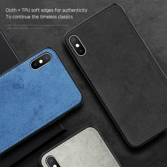 New Fabric Ultra-thin Canvas Silicon Case For iphone 7 8 6 6s Plus 11 Pro X New Fabric Ultra-thin Canvas Silicon Case For iphone 7 8 6 6s Plus 11 Pro X Xs Max Xr Cloth Texture Soft Protective Cover Coque.