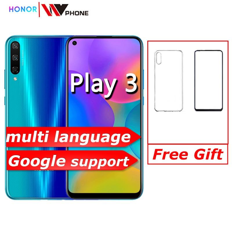 "Honor play 3 Smartphone 4000mAh Battery Kirin 710F 48MP camera Android 9.0 6.39"" IPS 1560X720"