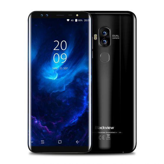 "Blackview S8 5.7"" 18:9 HD Screen 4 Cameras Octa Core Smartphone Blackview S8 5.7"" 18:9 HD Screen 4 Cameras MT6750T Octa Core Smartphone 4GB+64GB Dual SIM Fingerprint OTG 4G LTE Mobile Phone."