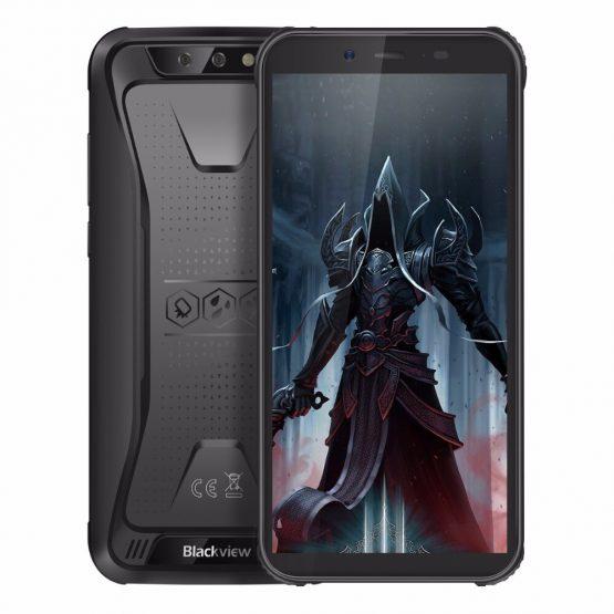 "Blackview BV5500 Pro 4G IP68 Waterproof Smartphone 3GB+16GB 5.5"" 18:9 Screen 4400mAh MT6739V Android 9.0 Dual SIM Mobile Phone"