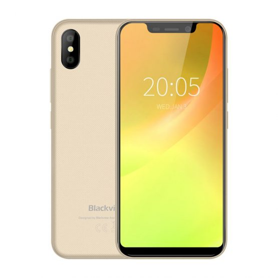 Blackview A30 Smartphone 19:9 ALL screen 2500mAh 5.5 inch Android 8.1 dual Camera 2GB RAM 16GB ROM MT6850A 3G Mobile phone