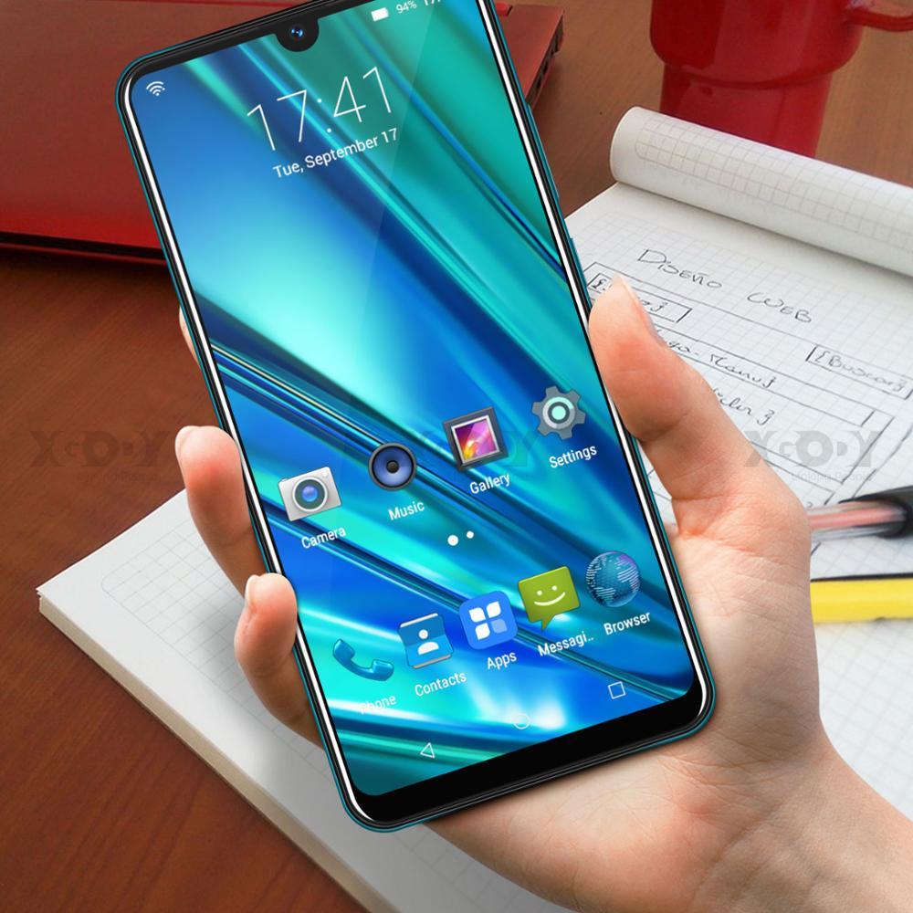 XGODY 9T Pro 3G Mobile Phone 2800mAh 2GB 16GB 6.26'' QHD Screen MTK6580 Quad Core Android 9.0 Waterdrop Full Screen Smartphone