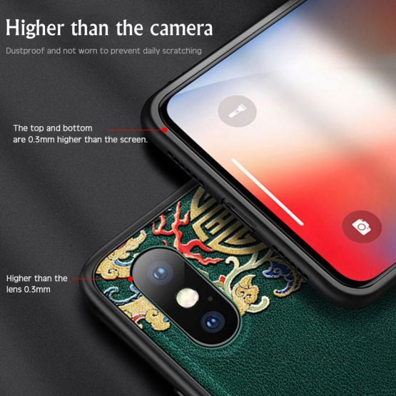 Luxury Leather Relief Patterned Case For iPhone 11 Pro XS MAX XR X New Silicone Soft Cases Luxury Leather Relief Patterned Case For iPhone 11 Pro XS MAX XR X New Silicone Soft Cases Cover For iPhone 7 8 6 6S Plus Shell.