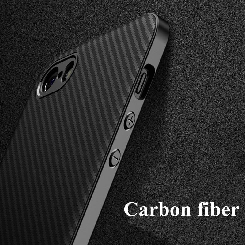 Carbon Fiber Case For iphone XS MAX XR iphone7 5s 5 se 8plus Soft Coque Cover For iphone 8 7 plus 6s 6 s plus X 10 11 pro Cases
