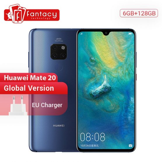Huawei Mate 20 6G128G Smartphone 6.53 inch Mobile Phone Kirin 980 Global Version Huawei Mate 20 6G128G Smartphone 6.53 inch Mobile Phone Kirin 980 NFC Kirin 980 Octa Core EMUI 9.0 4000mAh.