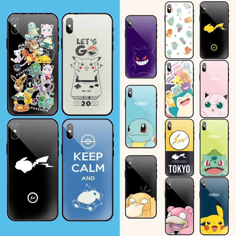 Pocket Monsters Pokemon Phone Case Cover Shell for iPhone 11 pro XS MAX 8 7 6 6S Plus X 5 5S SE XR case