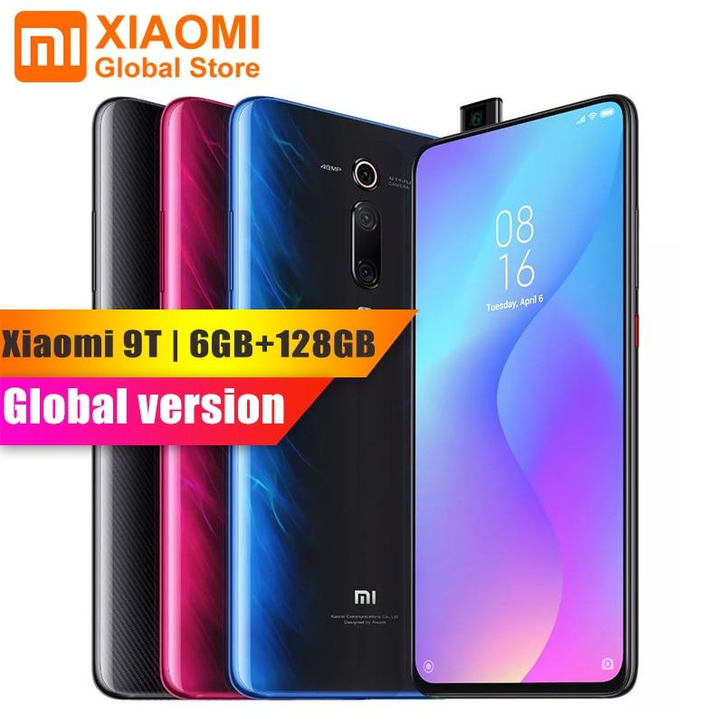 Global Version Xiaomi Mi 9T (Redmi K20) Mi9 T 6GB 128GB Full Screen 48 Million Super Wide-angle Pop-up Front Camera Smartphone