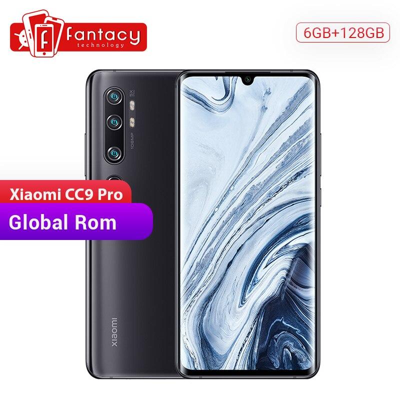Global Rom Xiaomi Mi CC9 Pro 6GB RAM 128GB ROM Snapdragon 730G Smartphone 108MP Penta Cameras 6.47' AMOLED Curved Screen 5260mAh