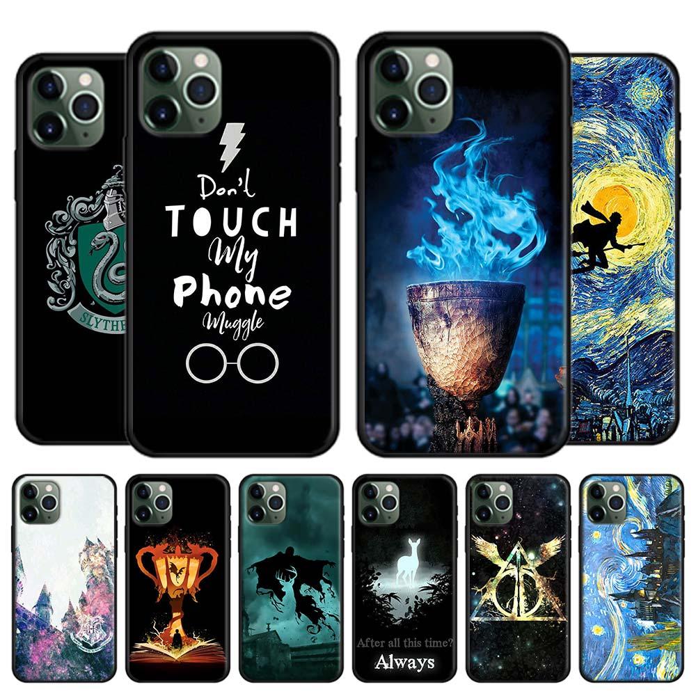 Potter Love Soft case for Apple iPhone 11 Pro X XR XS MAX 7 8 Plus 6 6s Plus 5 5s SE Soft Black Cover Capa