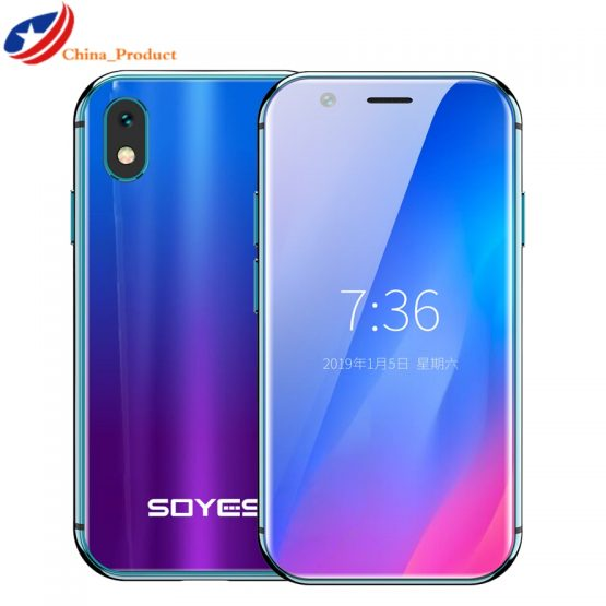 2019 Mini Smartphone SOYES XS 3'' 3GB+32GB 2GB+16B Android Face Recognion 2019 Mini Smartphone SOYES XS 3'' 3GB+32GB 2GB+16B Android Face Recognion 1580mAh 4G Wifi Backup Pocket Cellphones PK 7S Melrose.