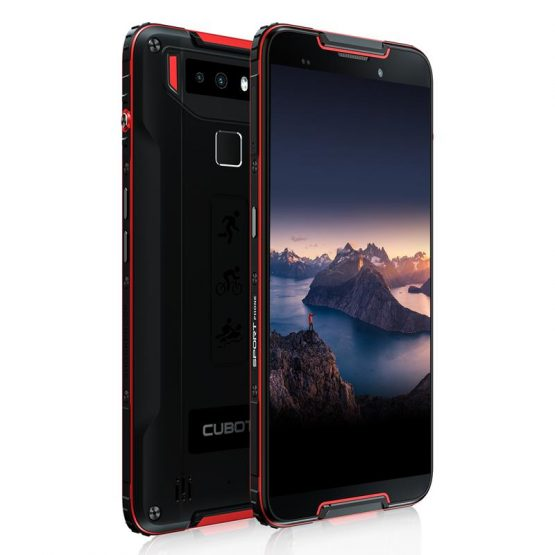 "Cubot Quest Sports Phone Android 9.0 5.5"" IP68 Waterproof MT6762 Octa-Core 4GB 64GB Cubot Quest Sports Phone Android 9.0 5.5"" IP68 Waterproof MT6762 Octa-Core 4GB 64GB 4000mAh 6P Lens Dual Camera NFC Smartphone."