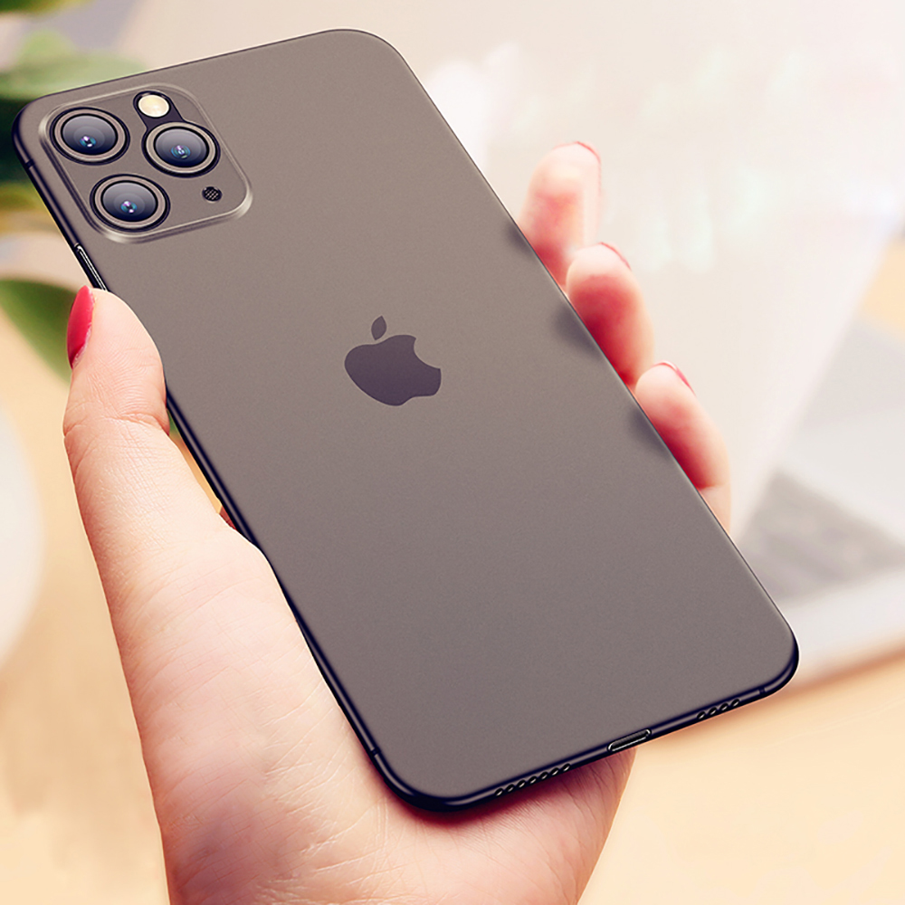 Eqvvol Ultra Thin Matte Case For iPhone 11 Pro MAX X XR XS MAX 6 6s 7 8 Plus Transparent TPU Case For iPhone 11 2019 Back Cover