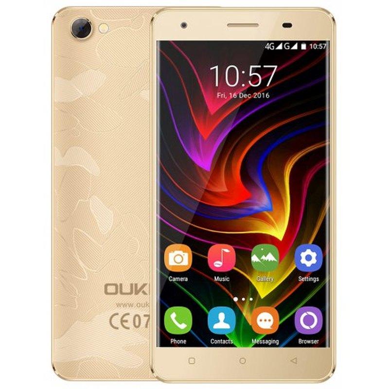 "OUKITEL C5 PRO SmartPhone 2GB RAM 16GB ROM 5.0"" 4G LTE Telephone MTK6737 Quad Core Android 6.0 2000MAH WIFI GPS Mobile Phone"