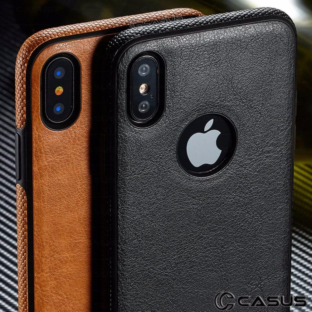 For iPhone 11/ 11 Pro/ 11 Pro Max Case SLIM Luxury Leather Back Ultra Thin Case Cover For iPhone XS Max XR X 8 7 Plus 6 6s Case