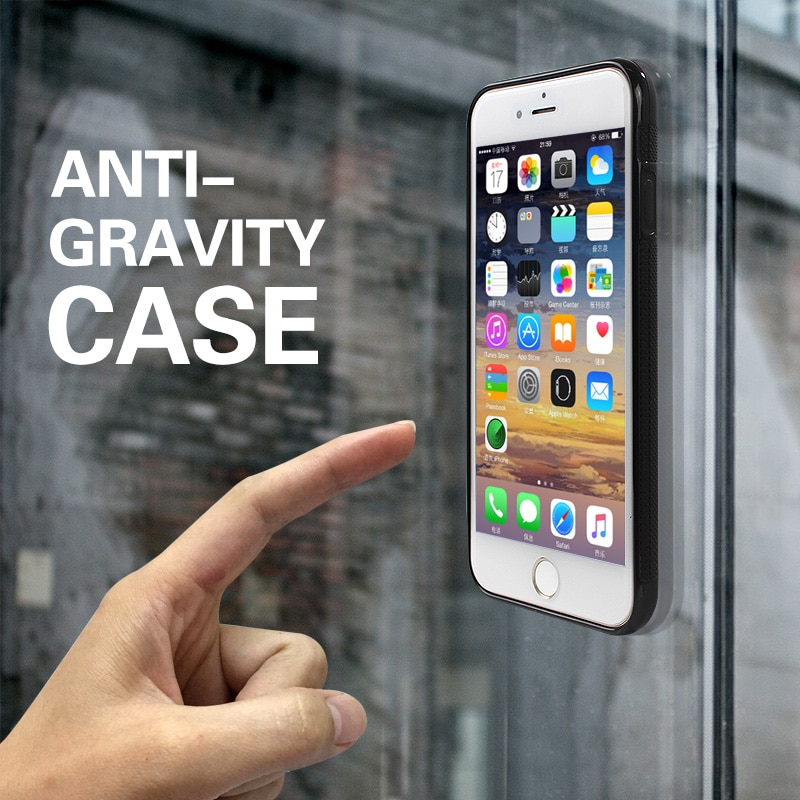 JAMULAR Anti Gravity Cases For iPhone 11 X XS MAX XR 8 7 Plus Silicon Phone Cover for iPhone 6 6s Plus 5S SE Anti-Gravity Coque