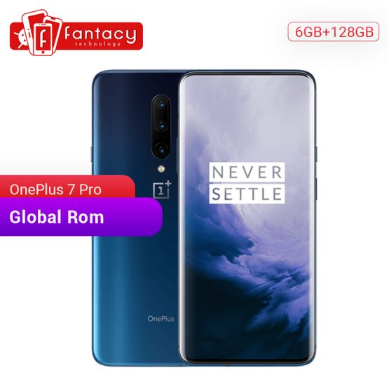 Global ROM OnePlus 7 Pro 6GB 128GB Smartphone 48MP Triple Cameras Snapdragon 855 6.67 Inch AMOLED Display Fingerprint UFS 3.0