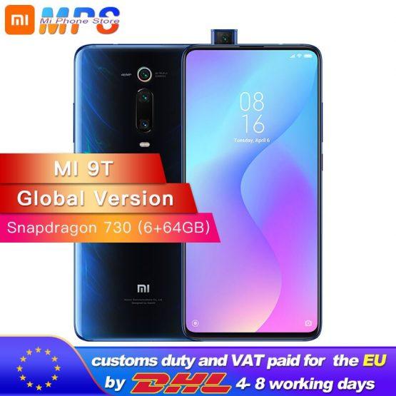 Global Version Mi 9T (Redmi K20) 6GB RAM 64GB Smartphone Snapdragon 730 Octa Core 4000mAh Pop-up Front Camera AMOLED 48MP