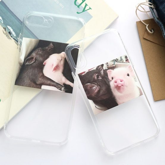 LACK Cute Pig Phone illustratin Case For iphone 11 11Pro Max XR X XS Max LACK Cute Pig Phone illustratin Case For iphone 11 11Pro Max XR X XS Max 6 6S 7 8 Plus Couples Clear Soft TPU Coque Back Cover.