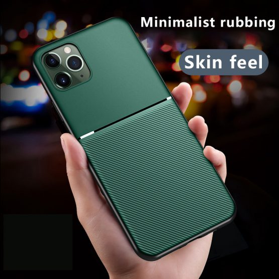 Luxury Silicone Car Magnetic Holder Phone Case For iPhone 11 Pro Max XSmax XR XS X 8 7 6s 6 5 Plus Ultra-thin Protection Cover