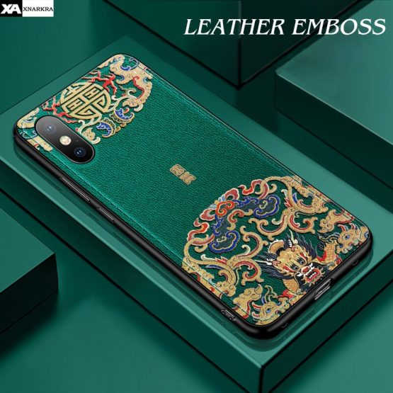 Luxury Leather Relief Patterned Case For iPhone 11 Pro XS MAX XR X New Silicone Soft Cases Cover For iPhone 7 8 6 6S Plus Shell