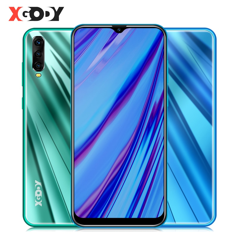 """XGODY A90 3G Smartphone 6.53"""" Waterdrop Screen Android 9.0 Mobile Phone"""