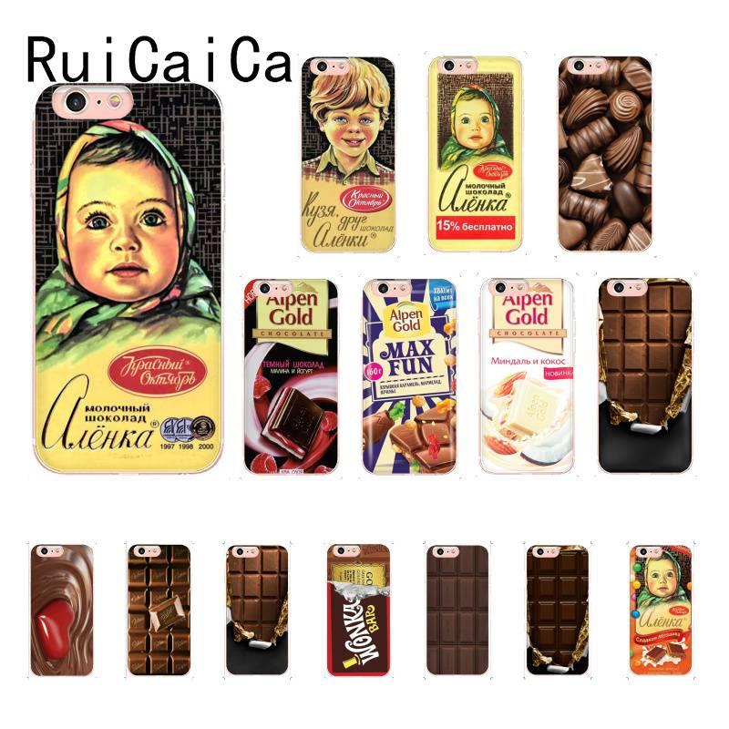 RuiCaiCa alenka bar wonka chocolate TPU Phone Case Cover Shell for iPhone X XSMAX 6 6S 7 7plus 8 8Plus 5 5S XR 11 11pro 11promax