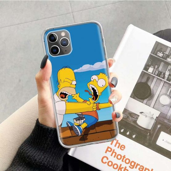 The Simpsons Case for Apple iphone 11 Pro XS Max XR X 7 8 6 6S Plus The Simpsons Case for Apple iphone 11 Pro XS Max XR X 7 8 6 6S Plus 5 5S SE 10 Ten Gift Silicone Phone Cover Coque.