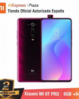 Global Version for Spain] Xiaomi Mi 9T PRO (Memoria interna de 64GB, RAM de 6GB, Triple cámara de 48 MP con IA) smartphone