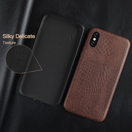 Luxury Case For iPhone 6 6s 7 8 Plus X 11 Case Crocodile Texture Phone Cases Luxury Case For iPhone 6 6s 7 8 Plus X 11 Case Crocodile Texture Phone Cases PU Leather Back Cover Coque For iPhone XS XR XS Max.