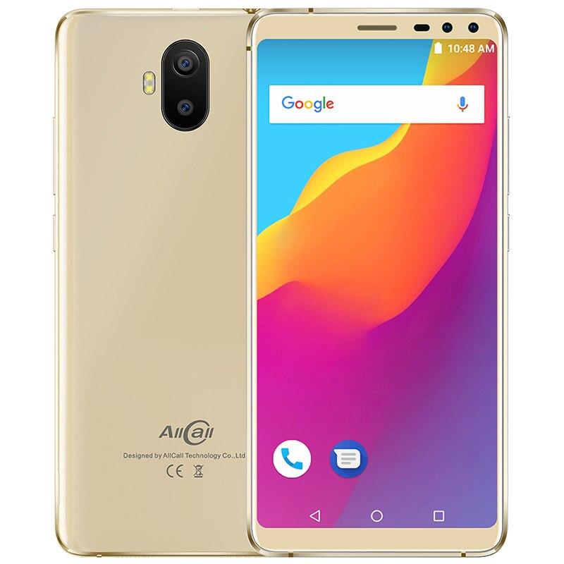 "AllCall S1 3G Smartphone 5.5"" Android 8.1 MT6580 Quad Core 2GB+16GB 13MP+2MP Dual Rear Camera 5000mAh Anti Fall Mobile Phone"