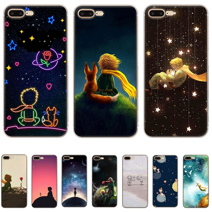 Mobile Phone Case for iPhone 7 8 6 6s Plus iPhone 11 Pro X XS Max XR 5 5S SE Hard Cover The Little Prince Shell