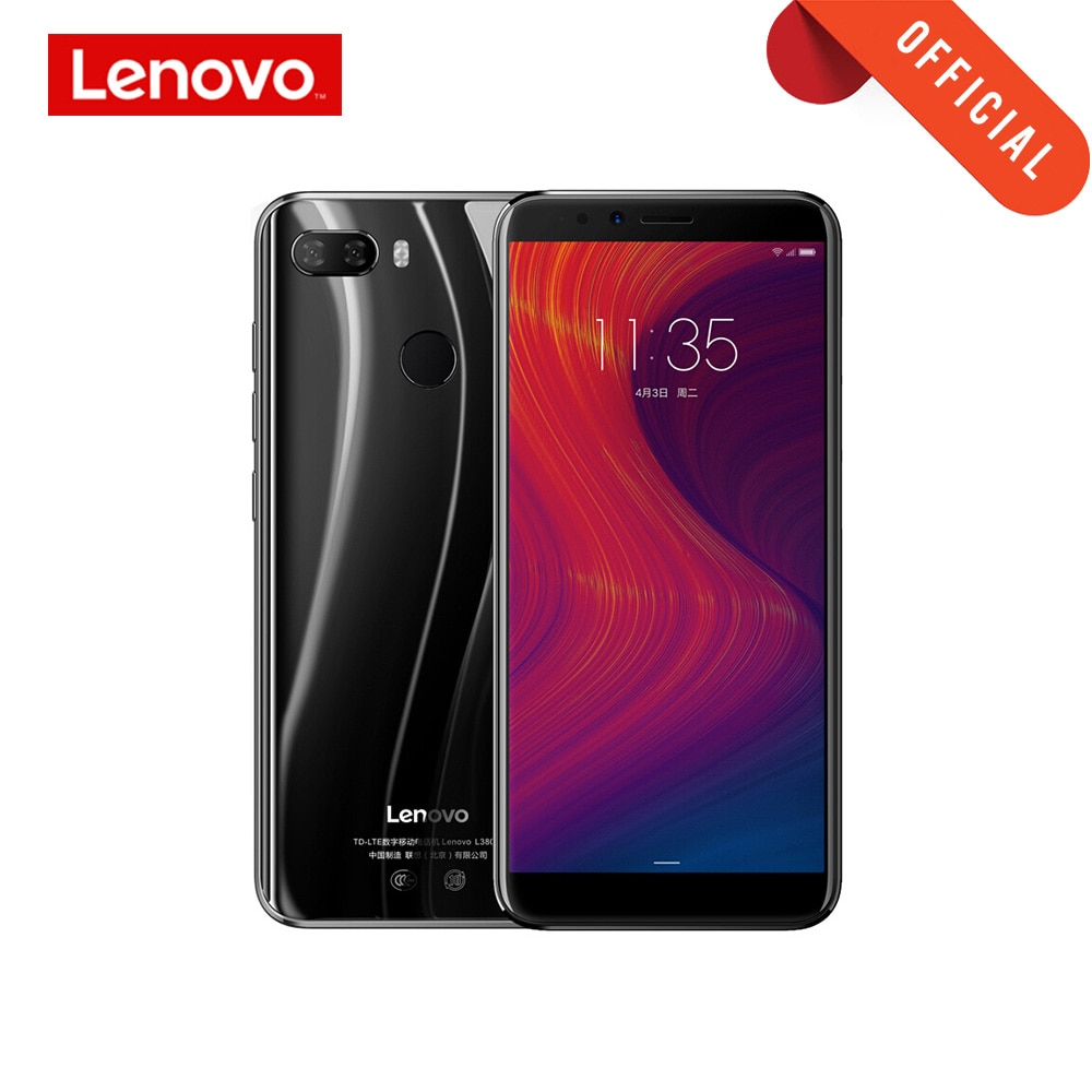 Global Version Lenovo K5 Play 3GB 32GB 18:9 Full Screen Fingerprint ID 13MP Dual Camera 5.7' inch Smartphone Snapdragon 430 Cell