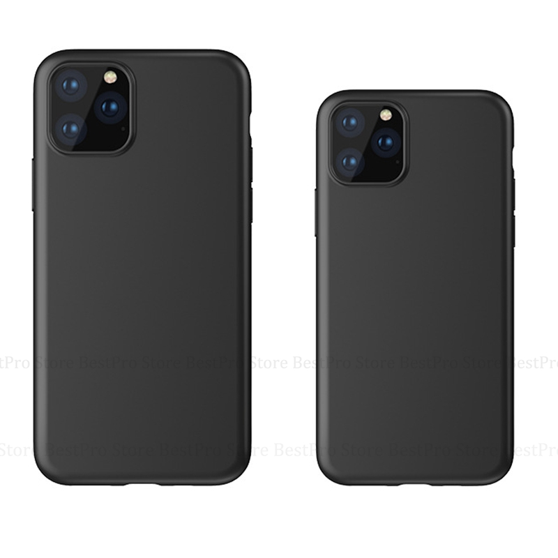 Silicone Case for iPhone 11 Pro 2019 on iPhone 11 Pro Max Phone Case Cover for iPhone XR XS MAX 11 Pro Max 11 6.5 6.1 5.8'' 2019