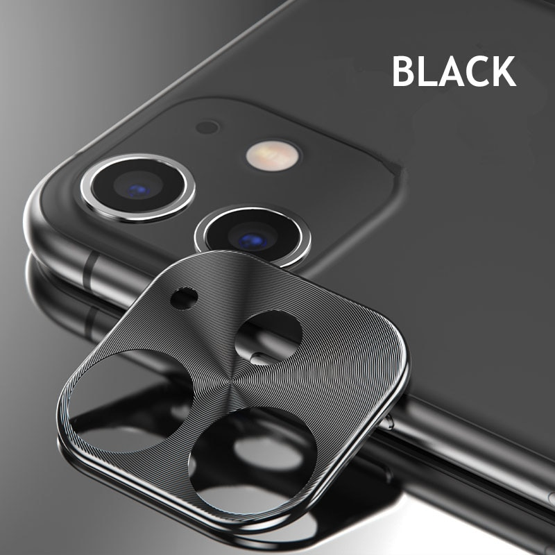 Metal Rear Camera Lens Case Cover For iphone 11 Pro Camera Guard Circle Case Cover For iphone 11 Pro MAX Ring Bumper Protection