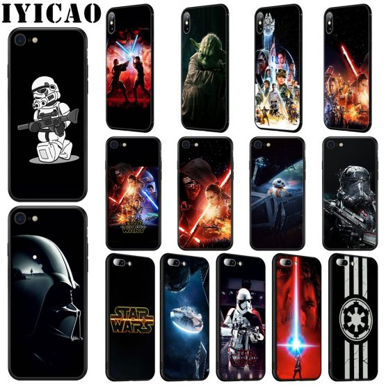 IYICAO STAR WARS COMIC DARTH Soft Silicone Case for iPhone 11 Pro Max XR X XS Max 6 6S 7 8 Plus 5 5S SE Phone Case