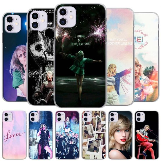pop singer Taylor Phone Cases for Apple iPhone 11 Pro Max X XR XS MAX 11 Pro 7 8 6 6s Plus 5 5S SE Hard Cover
