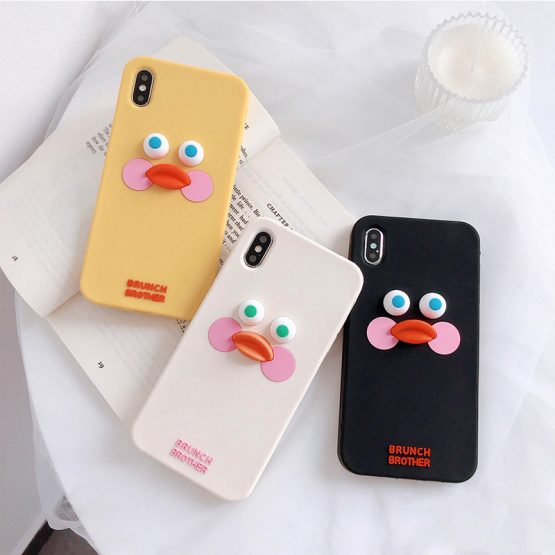 Cute Cartoon Duck Phone Case For iphone 11 Pro Max XS Max X XR 6 6s Cute Cartoon Duck Phone Case For iphone 11 Pro Max XS Max X XR 6 6s 7 8 plus Back Cases Fashion Funny 3D Touch Silcone Soft Capa.