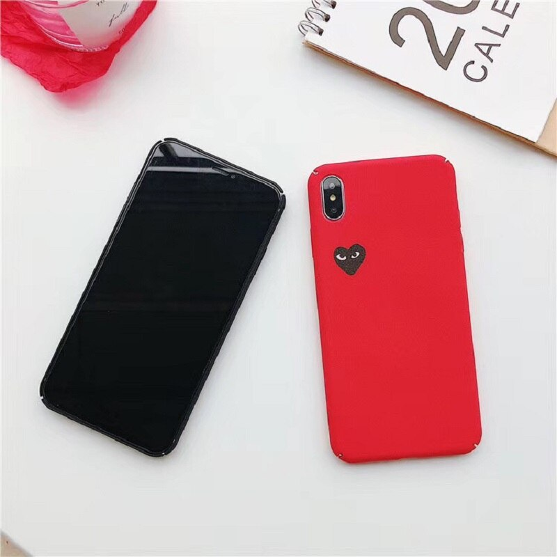 Love Heart phone Case For iPhone 7 6 6S 8 Plus 11 Pro X XR XS Max fashion extravagant creativity Phone Case hard Back Cover