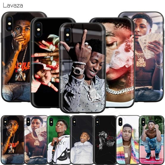 Lavaza YoungBoy Never Broke Again Case for iPhone 11 Pro XS Max XR X 8 7 6 6S Plus 5 5s se