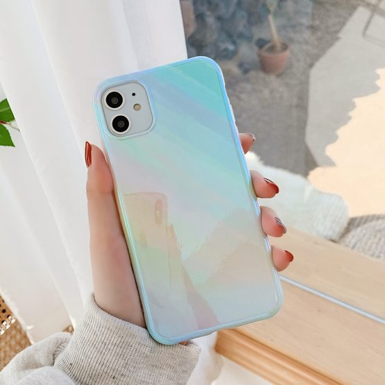 Blu-ray Glitter Phone Case For iPhone 11 Pro Max XR XS Max 7 8 Plus LOVECOM Blu-ray Glitter Phone Case For iPhone 11 Pro Max XR XS Max 7 8 Plus X Soft IMD Glossy Back Cover For iPhone 11 Case Gift.