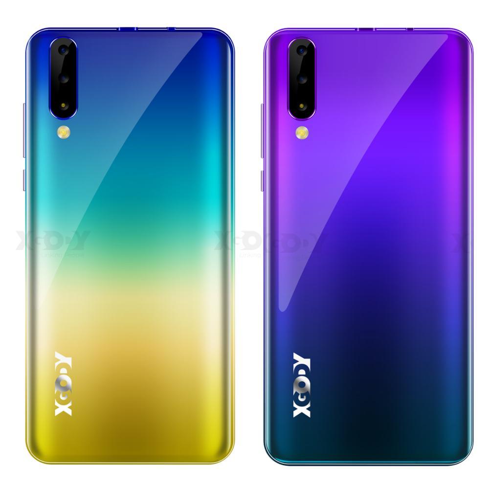 "New XGODY P30 Mobile Phone Android 9.0 6"" 18:9 2G 16G Cellphone MTK6580 Quad Core Dual Sim 5MP Camera GPS 3G Celular Smartphone"