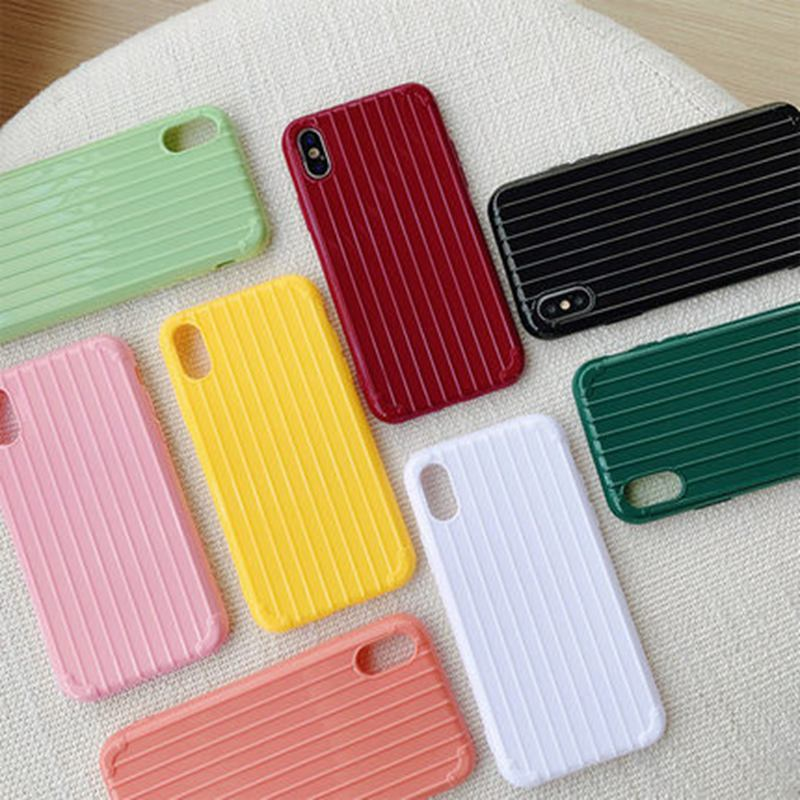 Candy Colors Phone Cases for iPhone 6 S X Soft Silicone Cute for iPhone 8 7 Plus 11 Pro XS Max XR Case TPU Back Case Fundas
