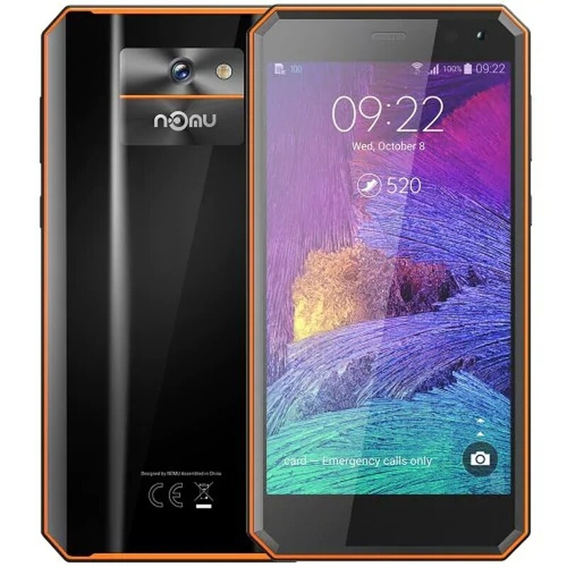 """Rugged SmartPhone 2GB RAM 16GB ROM IP68 Waterproof 5.0"""" 4G LTE Telephone MTK6737VWT Quad Core Android 7.0 8.0MP Mobile Phone"""