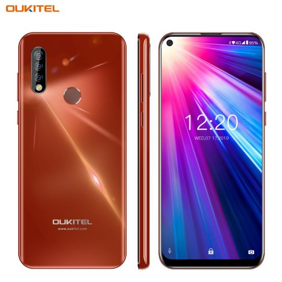 OUKITEL C17 6.35'' Smartphone MT6763 Octa Core Mobile Phone 3GB 16GB Android 9.0 Cellphone Triple Camera Double 4G LTE Bands OTG