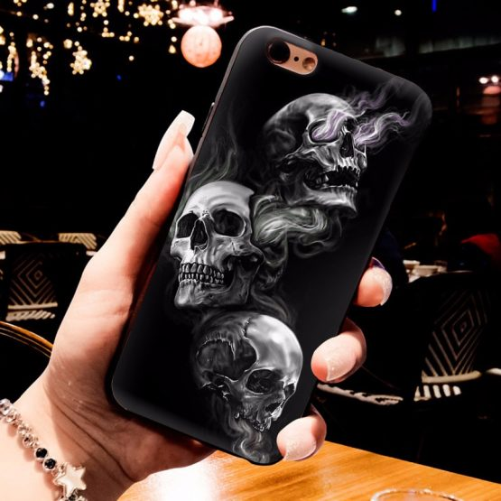MaiYaCa Grim Reaper Skull Skeleton Luxury Hybrid phone case for iPhone MaiYaCa Grim Reaper Skull Skeleton Luxury Hybrid phone case for iPhone 6S 6plus 7 7plus 8 8Plus X XS MAX XR 5 5S 11pro max case.