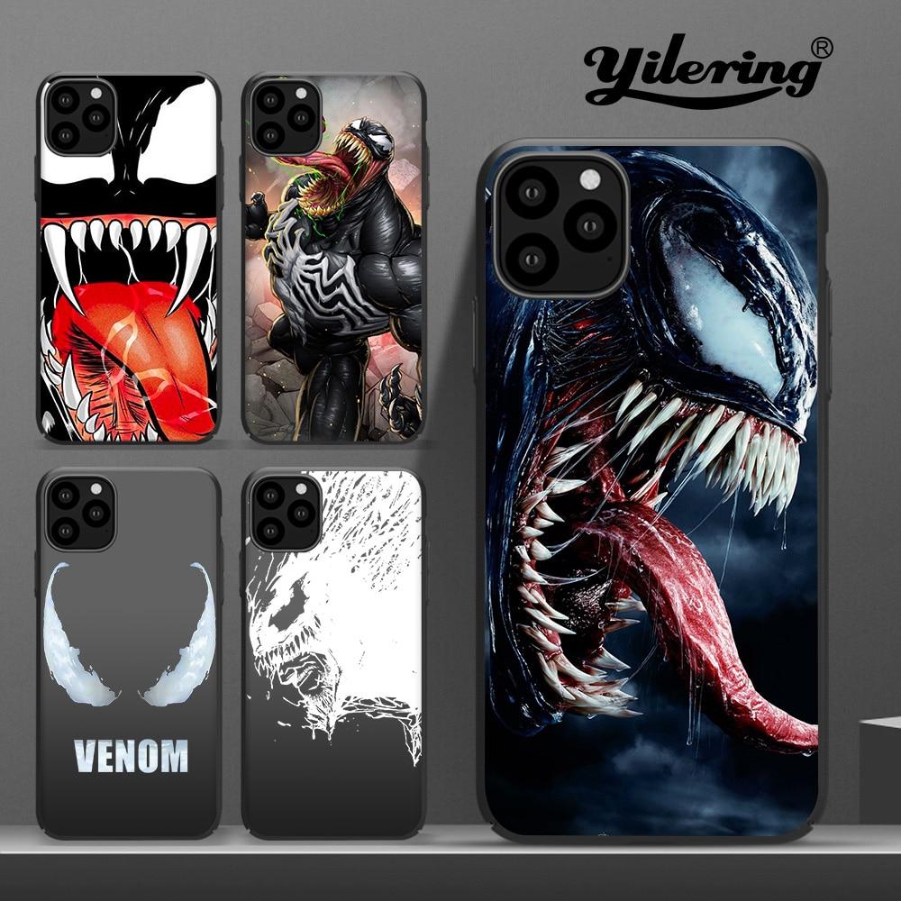 Venom For Fundas iPhone 11 Pro XS Max Case Cover For Case iPhone 8 Plus XR Coque for Case iPhone 5S 6 7 Plus SE X 11 Phone Cover